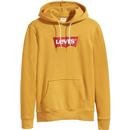 LEVI'S Mens Retro 70s 'Modern' Hoodie in Chai Tea