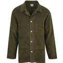 Lois 1086 french worker jacket green olive