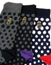 + Aiden LUKE 1977 Retro Mod 3 Pack Socks Gift Set