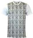 Snow Camo LUKE 1977 Retro Feather Print T-shirt