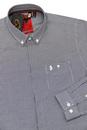 Twenty Four Seven LUKE 1977 60s Mod Dogtooth Shirt