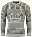 LYLE & SCOTT Retro Fair Isle Chunky Knit Jumper