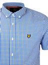 LYLE & SCOTT Retro 60s Button Down Gingham Shirt