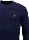 Dazzle LYLE & SCOTT Retro Tiger Stripe Knit Jumper