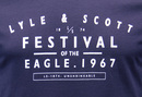 LYLE & SCOTT Retro Indie Festival Graphic T-Shirt