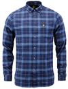 LYLE & SCOTT Mod Button Down Check Flannel Shirt