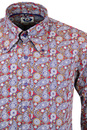 Empire MADCAP ENGLAND Paisley Beagle Collar Shirt