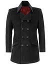 MADCAP ENGLAND RETRO 60S MOD DANDY JACKET BLACK