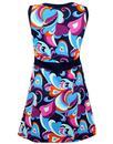 Bonnie MADCAP ENGLAND 60s Mod Paisley Cloud Dress