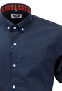 Roundhouse MADCAP ENGLAND Mod Penny Collar Shirt N