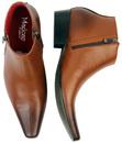 Thunderbolt MADCAP Chisel Toe Chelsea Boots (Br)