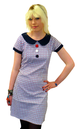 Dollierocker MADCAP Retro Mod Target Dress (W)