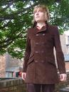 'The In Crowd' - MADCAP Mens Retro Mod Jacket (DB)