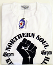 'Keep the Faith' Retro Mod Northern Soul T-Shirt W