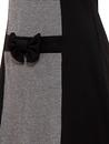 Cherry MADEMOISELLE YEYE 1960s Mod Dogtooth Dress