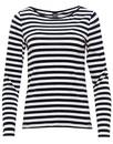 Melanie MADEMOISELLE YEYE 1960s Mod Striped Top