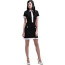 Marmalade 4 pocket dress black cream