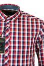 Arista MERC Retro Mod 60s Button Down Check Shirt