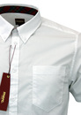 'Baxter' - Mens Retro Mod Shirt by MERC LONDON (W)