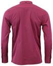 Japster MERC Retro Mod Classic Gingham Shirt (RB)