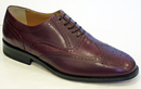 MERC BROGUES RETRO MOD BROGUE SHOES OXBLOOD 60s