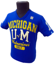 NCAA RETRO T-SHIRT RETRO COLLEGE T-SHIRT MICHIGAN