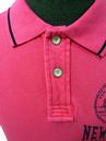 New York NCAA Collegiate Vintage Retro Polo (P)