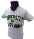Notre Dame NCAA Collegiate Vintage V-Neck Tee G