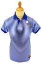NCAA Collegiate Vintage Michigan Retro Polo Shirt
