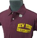 NCAA Collegiate Vintage New York Retro Polo Shirt