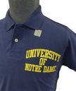 NCAA Collegiate Vintage Notre Dame Retro Polo (N)