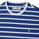ORIGINAL PENGUIN Breton Striped Tee (Surf The Web)