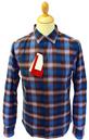 ORIGINAL PENGUIN Retro Mod Shadow Check Mens Shirt