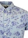 Dalmore PEPE JEANS Retro Floral Button Down Shirt
