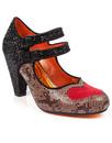 Bessie Love POETIC LICENCE Retro Vintage Heels