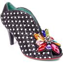 Madly In Love POETIC LICENCE Glitter Shoes BLACK