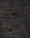 Broadwick PRETTY GREEN Black Label Suede Jacket B