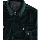 PRETTY GREEN Sixties Velvet Zip Through Jacket (G)