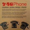 746 Retro 60s Mod Target Retro Telephone (BRC)