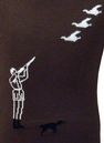 'Hunter' Retro Country Gent Intarsia Knit Jumper B