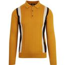 Ska and soul gold long sleeved top