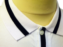 Niblick SLAZENGER HERITAGE Retro Mod Tipped Polo W