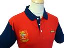 Enoch SLAZENGER HERITAGE Retro Mod Crest Polo Top