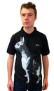 SLAZENGER HERITAGE GOLD GOD DOG POLO RETRO MOD