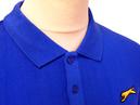Equipe SLAZENGER HERITAGE Mens L/S Retro Mod Polo