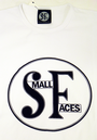 SMALL FACES Retro 60s Mod Drum Logo T-Shirt (W)
