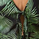 Gloria Palm SUGARHILL BRIGHTON Batik Tie Dress