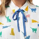 T0192 catrina purrfect cats shirt