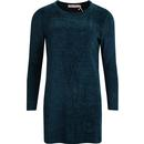 Traffic people blue sky blues jumper dress blue