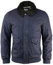 Cupar TUKTUK Retro Indie Mod Sherpa Collar Jacket